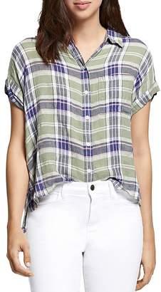 Sanctuary Mod Plaid Boyfriend Shirt
