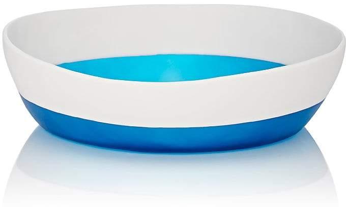 Tina Frey Designs Bi-Color Large Wide Serving Bowl