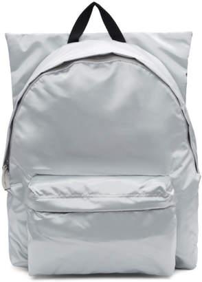 Raf Simons Silver Eastpak Edition Poster Backpack