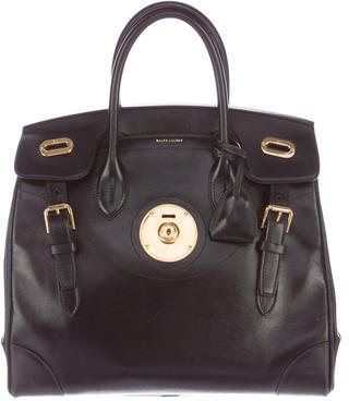 Ralph Lauren Leather Ricky Bag $1,295 thestylecure.com
