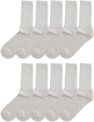 Tek Gear Men's 10-Pack Crew Socks