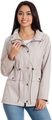 Women's Bagatelle Sport Hooded Anorak Rain Jacket