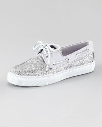 Sperry Bahama Glitter Slip-On