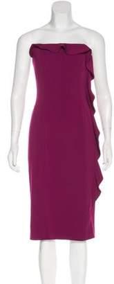 Jay Godfrey Ruffled Strapless Dress