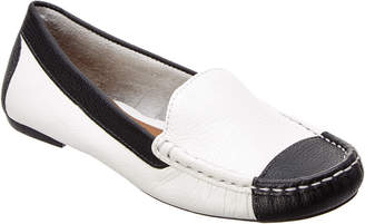 French Sole Christie Leather Flat