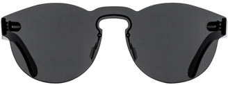 Super By Retrosuperfuture Tuttolente Paloma Black Sunglasses $195 thestylecure.com