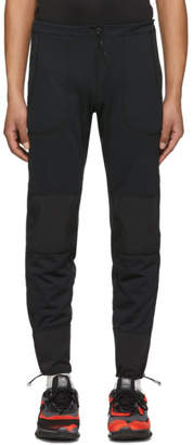 and Wander Black Dry Jersey Tight Sweatpants