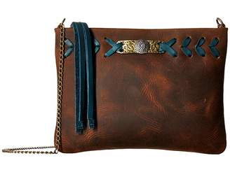 Leather Rock Cheyenne Crossbody
