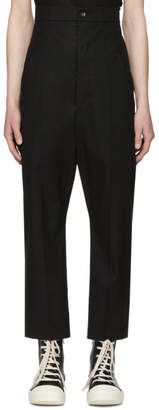 Rick Owens Black Dirt Jeans