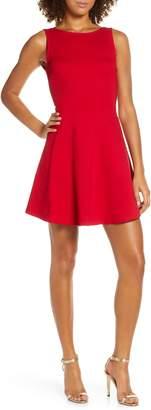Lulus Special Kind of Love Backless Skater Dress