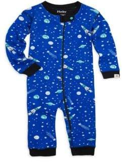 Hatley Baby Boy's Outer Space Coverall