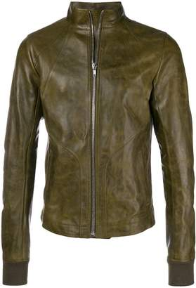 Rick Owens high neck jacket