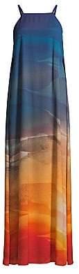Lafayette 148 New York Women's Leonissa Desert Ombré Maxi Dress