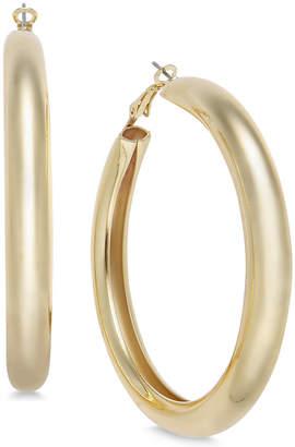 """Thalia Sodi Large 2"""" Gold-Tone Wide Hoop Earrings, Created for Macy's"""