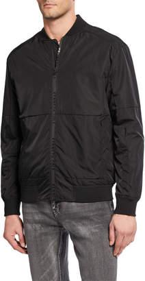 Kenneth Cole New York Men's Zip Bomber Jacket