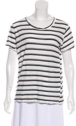 A.L.C. Stripe Short Sleeve T-Shirt