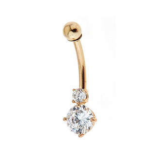 FINE JEWELRY 14K Gold Belly Ring