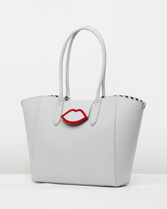 Lulu Guinness Large Cupid's Bow Sofia Tote