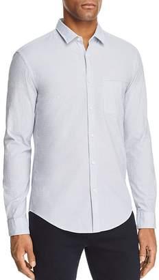 BOSS GREEN Bise Dobby Pattern Long Sleeve Button-Down Shirt