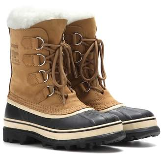 Sorel Caribou® leather and rubber boots