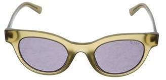 Quay Star Struck Cat-Eye Sunglasses