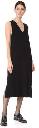 Alexander Wang Milano Knit Sleeveless V Neck Dress