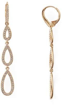 Nadri Pavé Triple Loop Teardrop Earrings