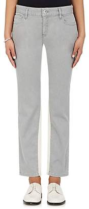 Each X Other Women's Striped-Inseam Jeans - Gray