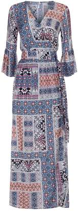 Seafolly Coastal Tribe Wrap Maxi Dress
