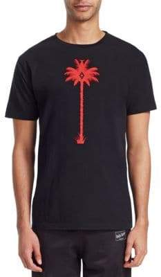 Marcelo Burlon County of Milan Palm Tree Cotton Tee