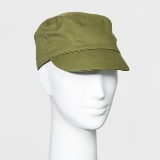 Universal Thread Women's Twill Engineer Captain Cadet Hat Green
