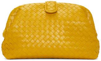 Bottega Veneta Yellow Lauren Intrecciato Clutch