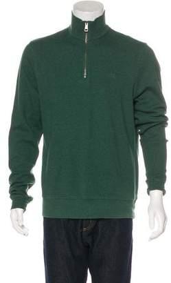 Burberry Knit Half-Zip Sweater