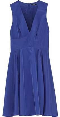 Raoul Crepe De Chine Mini Dress