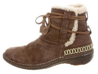 UGG Australia Cova Alpine Ankle Boots $95 thestylecure.com