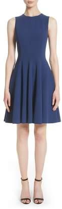 Michael Kors Stretch Wool Bell Dress