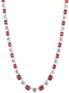 Anne Klein Crystal Collar Necklace
