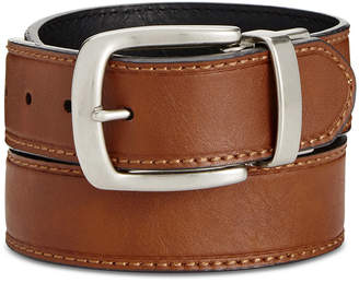 Levi's Men Big & Tall Heat-Creased Reversible Belt