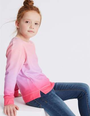 Marks and Spencer Ombre Sweatshirt (3-16 Years)
