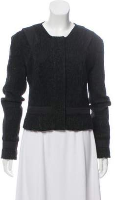 Narciso Rodriguez Tweed Structured Jacket