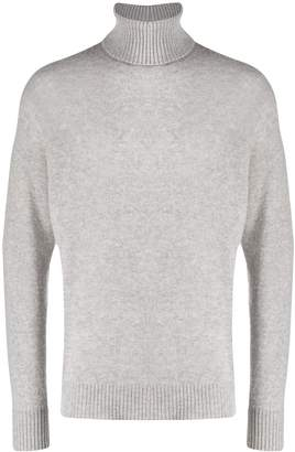 Maison Flaneur roll neck sweatshirt