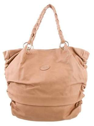 Tod's Ruched Leather Bag
