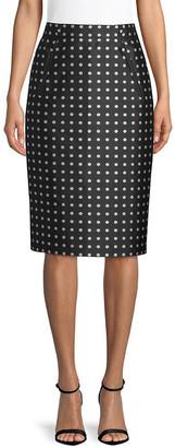 Ralph Lauren Carlton Pencil Skirt