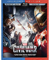 Disney Captain America: Civil War 3D Blu-ray Collector's Edition
