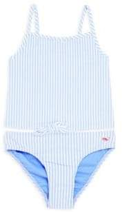 Vineyard Vines Toddler's, Little Girl's & Girl's Striped Two-Piece Swimsuit