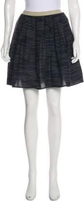 Hache Printed Midi Skirt