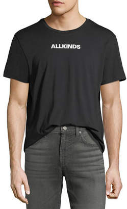 7 For All Mankind Men's ALLKINDS Graphic Cotton T-Shirt