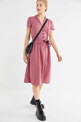 Urban Outfitters Natalie Belted Shirt Dress