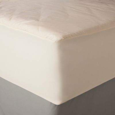 AllerEase Twin Naturals Organic Cotton Waterproof Mattress Pad
