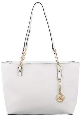 MICHAEL Michael Kors Leather Chain-Link Tote